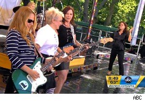 The Go-Go's perform 'We Got the Beat' on 'Good Morning America'