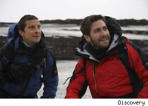 Jake Gyllenhaal, Bear Grylls, Man Vs. Wild
