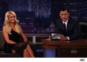Paris Hilton, 'Jimmy Kimmel Live'