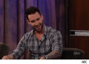 Adam Levine, 'Jimmy Kimmel Live'