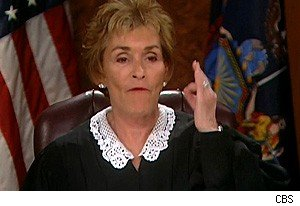Judge Judy is not impressed by you