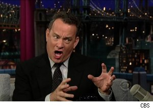Tom Hanks, 'Late Show with David Letterman'