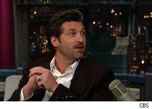 Patrick Dempsey, 'Late Show with David Letterman'