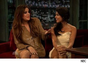 Khloe &amp; Kourtney Kardashian, 'Late Night with Jimmy Fallon'