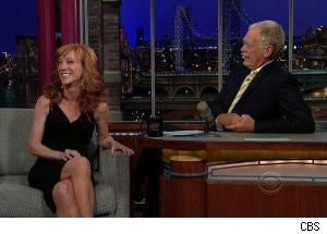 Kathy Griffin, 'Late Show with David Letterman'