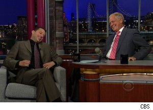 Jon Cryer, 'Late Show with David Letterman'