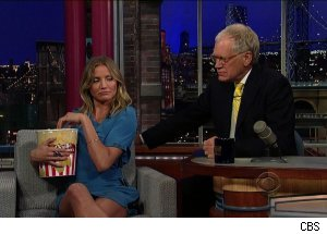 Cameron Diaz, 'Late Show with David Letterman'
