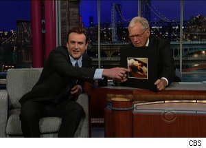 Jason Segel, 'Late Show with David Letterman'