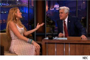 Blake Lively and Jay Leno