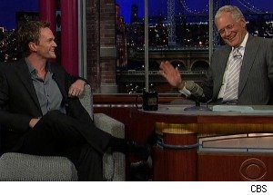 neil patrick harris letterman