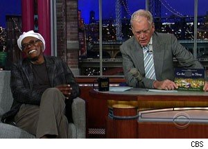 samuel l jackson david letterman