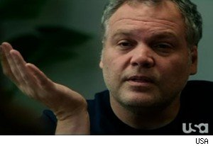 Vincent D'Onofrio as Detective Goren on 'Law and Order: Criminal Intent'