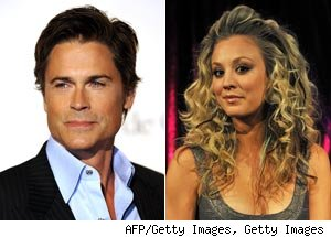 Rob Lowe, Kaley Cuoco