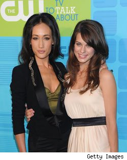 Maggie Q and Lyndsy Fonseca