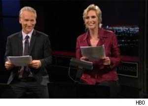 Bill Maher and Jane Lynch do a dramatic reading of Anthony Weiner's explicit sexts.