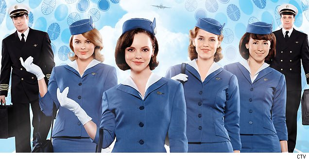 'Pan Am' Stars Christina Ricci and Margot Robbie on Girdles and Female Empowerment