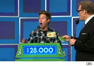 This man is happy he won a sailboat on 'The Price Is Right'
