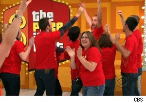 A victory dance on 'The Price Is Right'