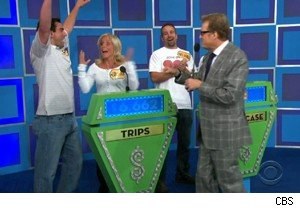 Newlyweds win a honeymoon vacation on 'The Price Is Right'