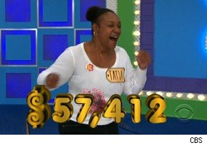 Tatia wins a big showcase on 'The Price Is Right'