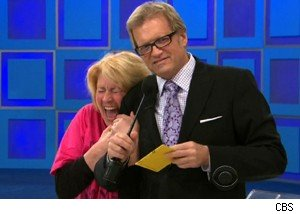 Kari and Drew Carey on 'The Price Is Right'