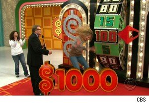 A great day at the wheel on 'The Price Is Right'