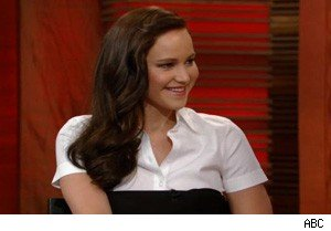 Jennifer Lawrence on 'Live With Regis and Kelly'