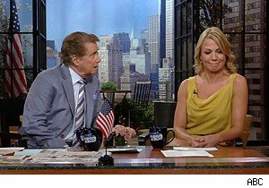Regis Philbin and Michelle Beadle discuss porn on 'Live With Regis and Kelly'