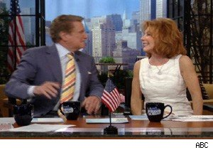 Regis and Joy Philbin on 'Live With Regis and Kelly'