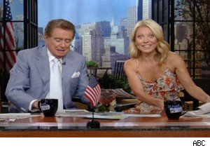 Regis Philbin would like to take Kelly Ripa hostage on 'Live With Regis and Kelly'