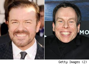 Ricky Gervais, Warwick Davis