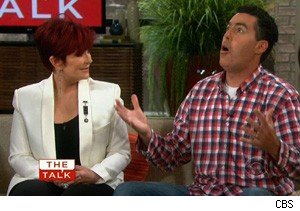Sharon Osbourne and Adam Carolla on 'The Talk'