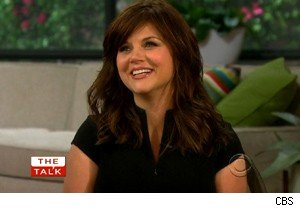 Tiffani Thiessen on 'The Talk'