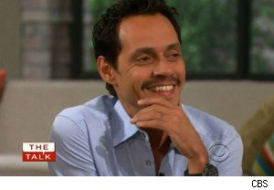 Marc Anthony talks about meeting Jennifer Lopez on 'The Talk'