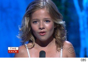 Jackie Evancho on 'The Talk'
