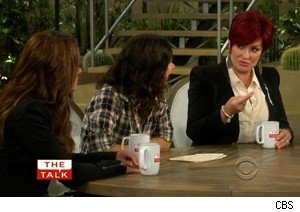 Leah Remini, Sara Gilbert, and Sharon Osbourne on 'The Talk'