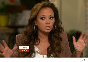 Leah Remini on 'The Real Housewives of New York City' on 'The Talk'