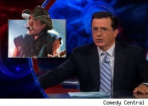 Ted Nugent, 'The Colbert Report'