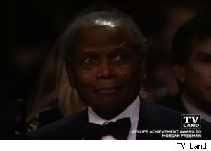 Sidney Poitier, 'The AFI Life Achievement Honoring Morgan Freeman'