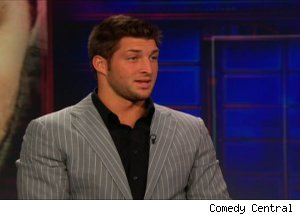 Tim Tebow, 'The Daily Show with Jon Stewart'