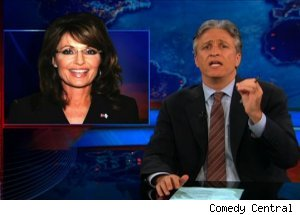 Sarah Palin, 'The Daily Show with Jon Stewart'