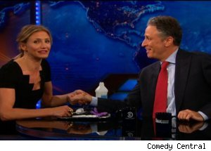 Cameron Diaz, 'The Daily Show with Jon Stewart'