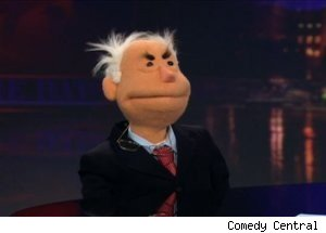 Puppet John McCain, 'The Daily Show with Jon Stewart'