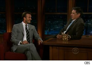 David Beckham, 'The Late Late Show with Craig Ferguson'