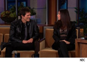 Kevin Bacon &amp; Bethenny Frankel, 'The Tonight Show with Jay Leno'