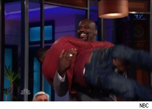 Shaquille O'Neal & Kevin Hart, 'The Tonight Show with Jay Leno'