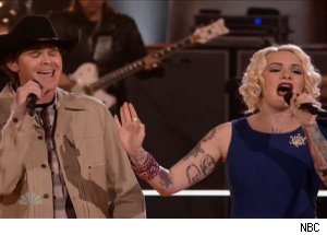 Curtis Grimes &amp; Emily Valentine, 'The Voice'