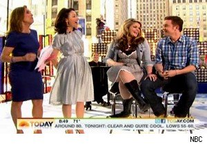 Lauren Alaina and Scotty McCreery on 'Today'