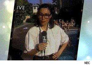 Ann Curry of 'Today' in her younger reporting days