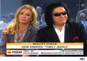 Shannon Tweed and Gene Simmons on 'Today'